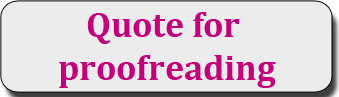 Quote for proofreading